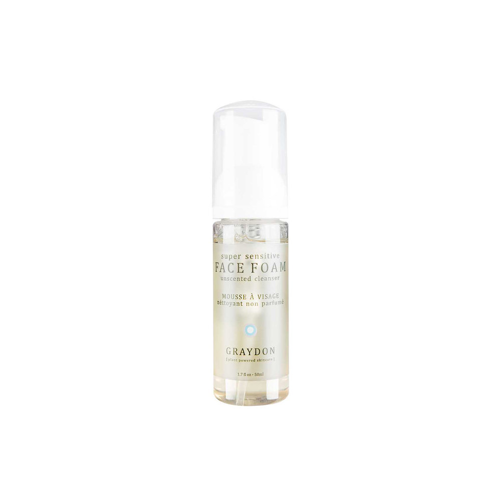 Face Foam - $28   Foam Gel  Great for combo-normal or oily. Unscented and only 11 ingredients.
