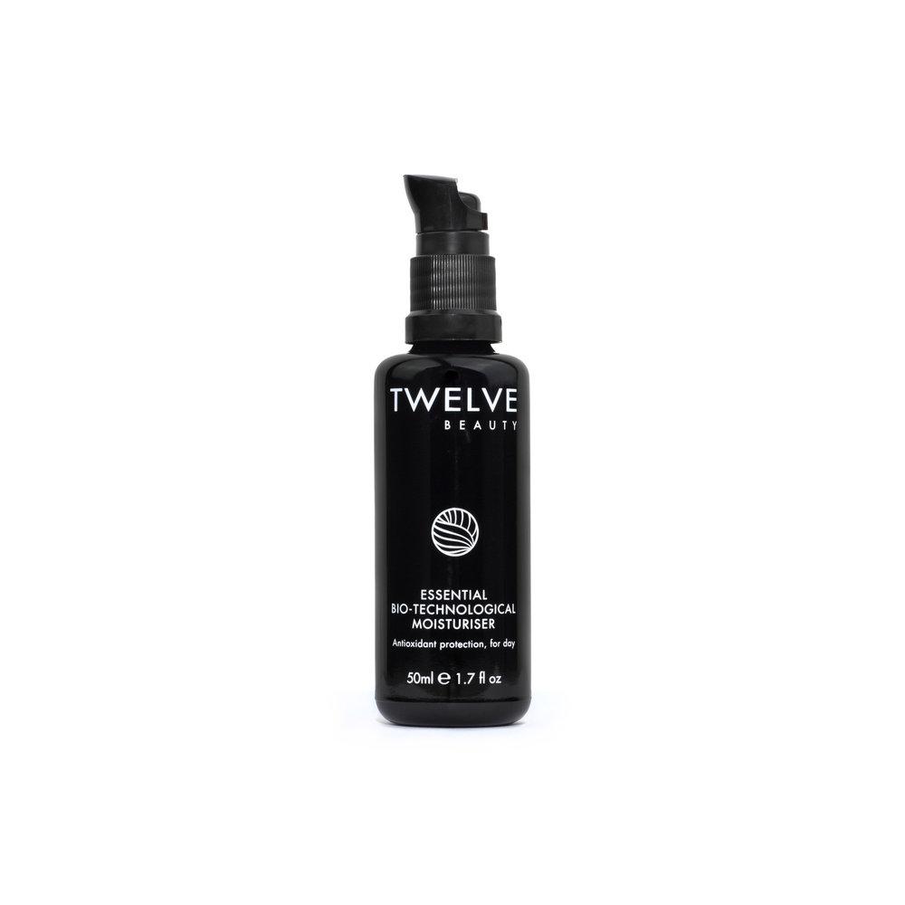 Essential Bio-Technological Moisturiser • $64   Seasonal Dryness  Glossy feel, not greasy.Potent moisturizer wears well under makeup.