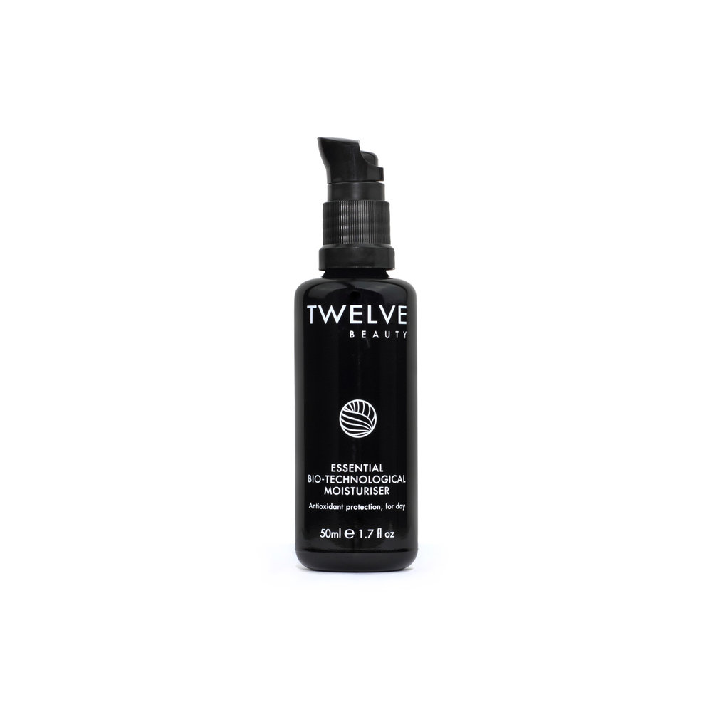 Essential Bio-Technological Moisturizer • $62   Silky Cream  Glossy feel, not greasy.Potent moisturizer wears well under makeup.