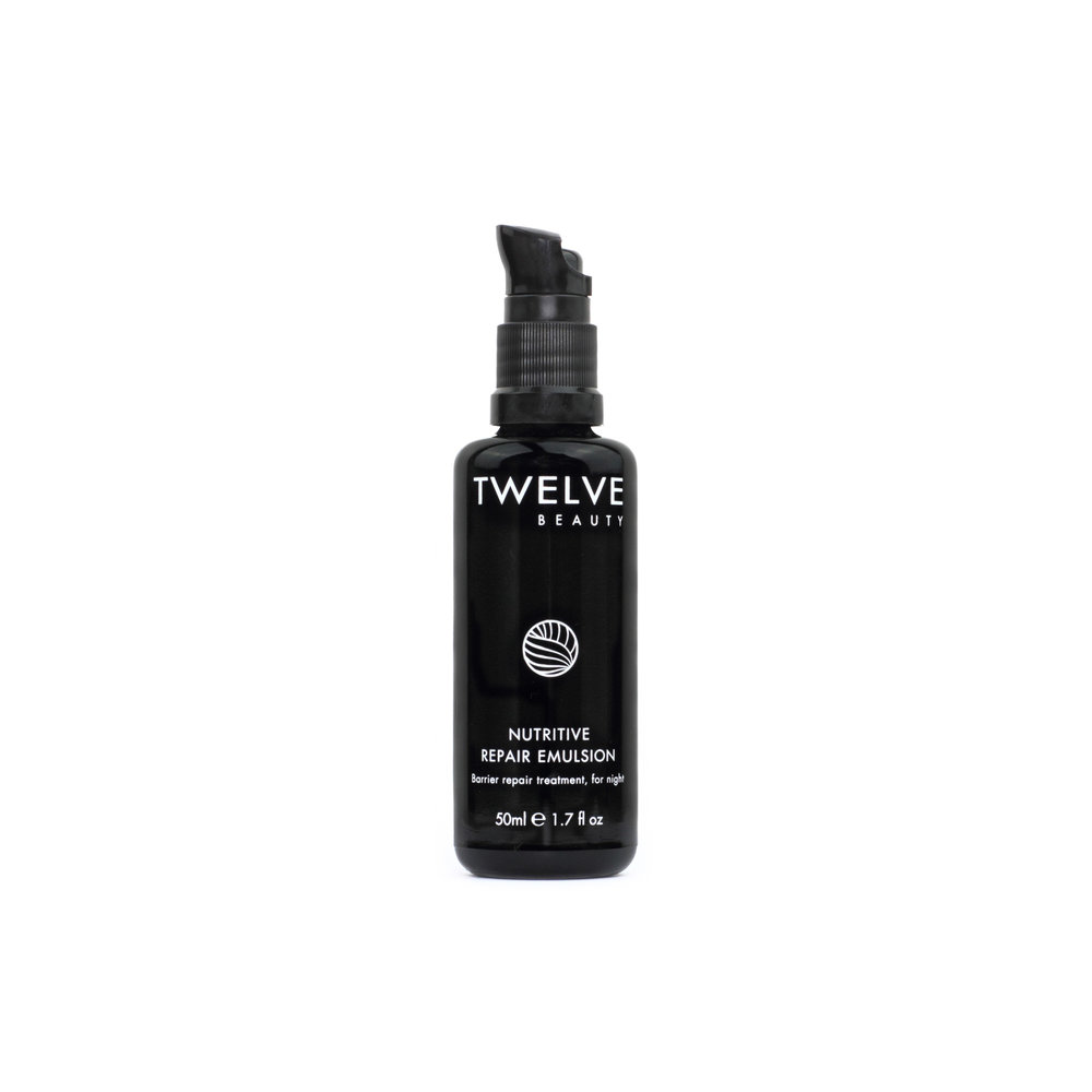 Nutritive Repair Emulsion • $72   Silky Cream  Potent moisturizer that feels glossy, not greasy.