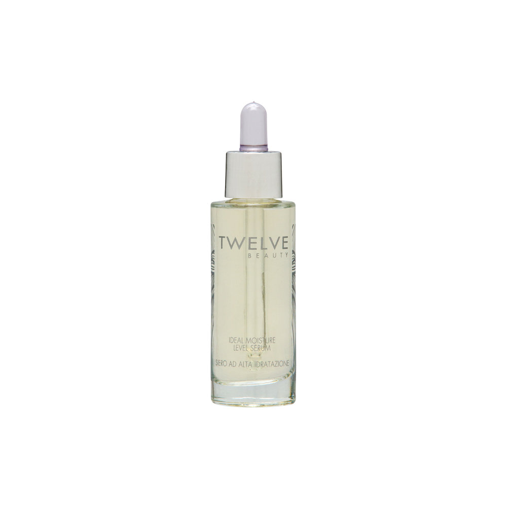 Ideal Moisture Level Serum • $68   Hydrating serum  Hyaluronic acid serum with B5 hydrates and builds moisture from within. Softens look of fine lines.