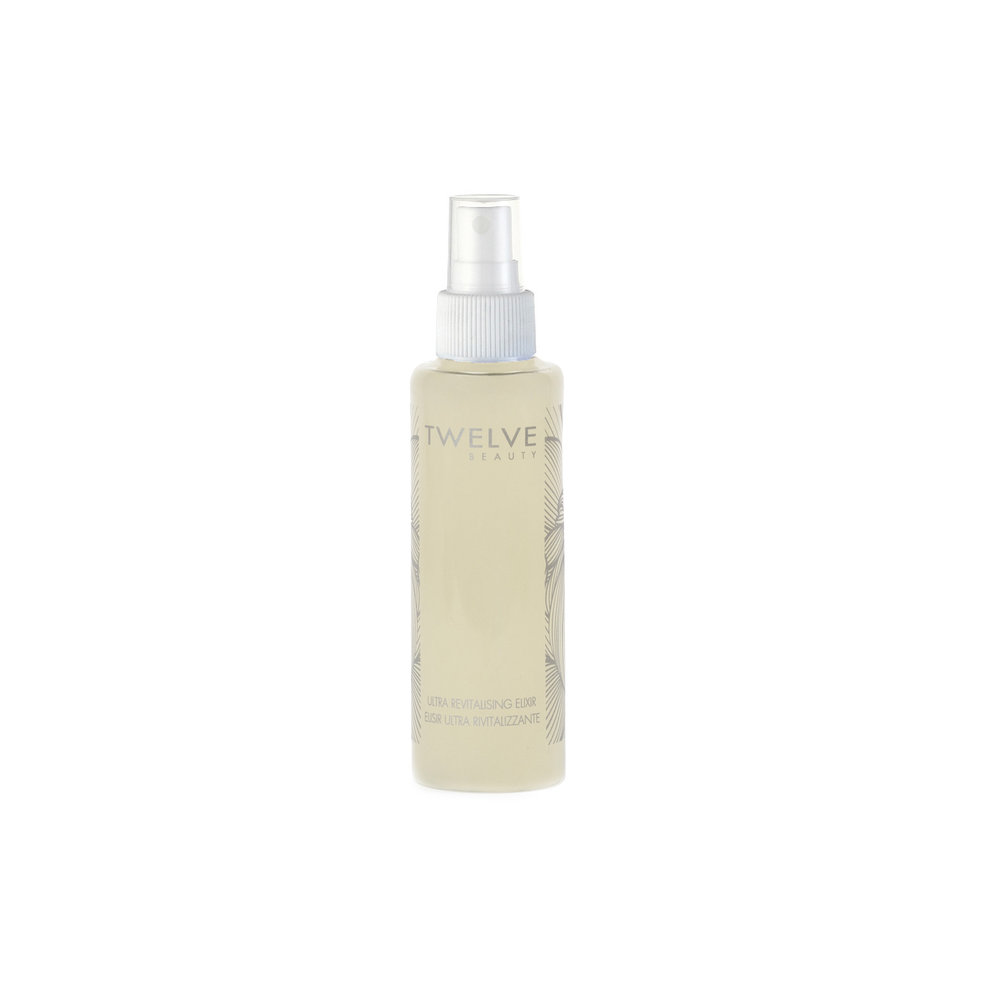 Ultra Revitalising Elixir • $55   Soothing and strengthening spritz  Toner with B5 hydrates, calms and strengthens skin.