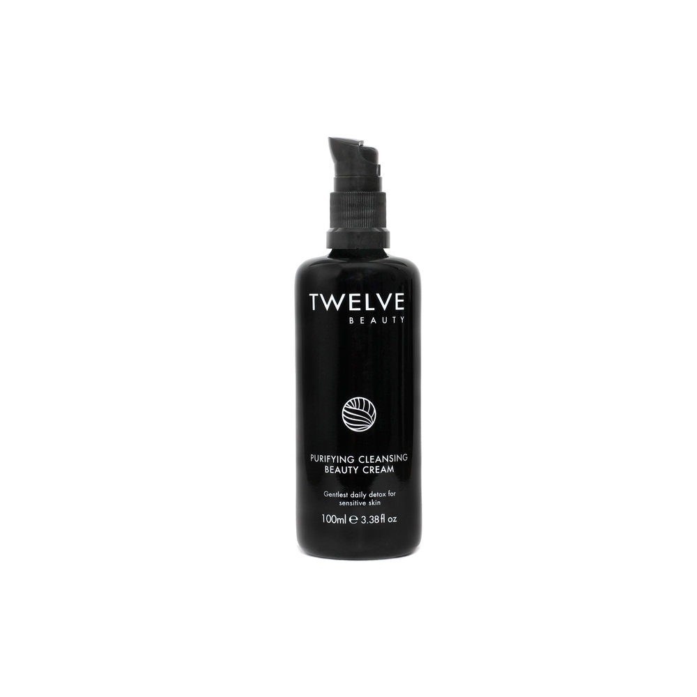 Purifying Cleansing Cream • $36   Cream cleanser  Light cream works for skin with mix of dry and oily, or any combo-normal.