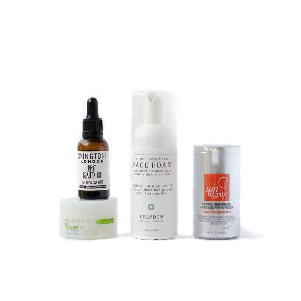 The Complete Kit ANTI-ACNE •  $150