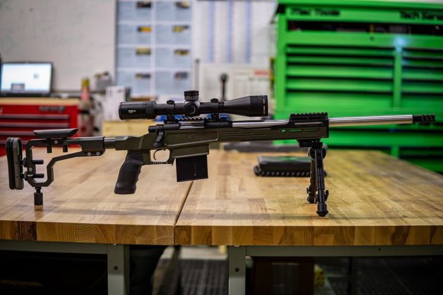 Brand new build heading out for testing.. Rover Chassis by @rehlminc  RemAge Nut by @rehlminc  Grip by @ergogrip  Recoil Pad by @limbsaver  Optic: PST GEN 2 by @vortexoptics  Barrel by @internationalbarrels1  Muzzlebrake @matador_arms  Cerakote by @redtowerarmoury  #precisionrifle #riflechassis #65creedmoor #308rifle #boltgun #sendit #mactools #madeincanada