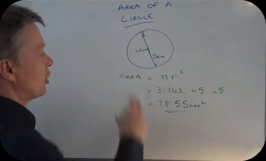 Area of a circle - GCSE level 4 - 5   6 Uploads