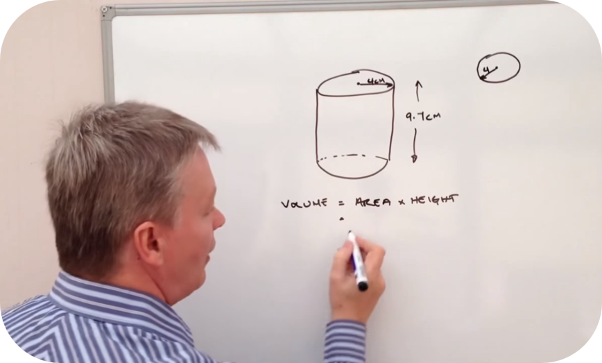 How to calculate the volume of a cylinder   5 Uploads
