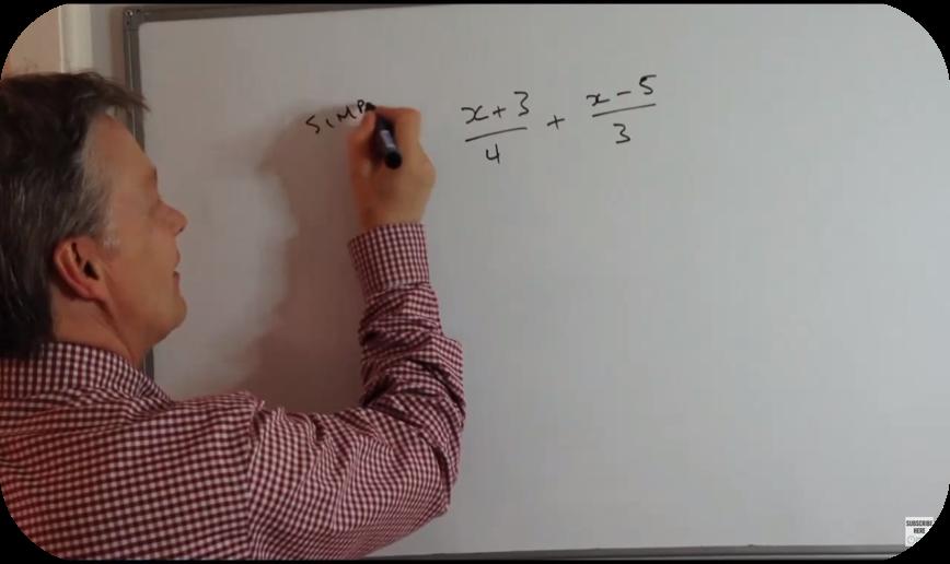 Working with algebra fractions   14 Uploads