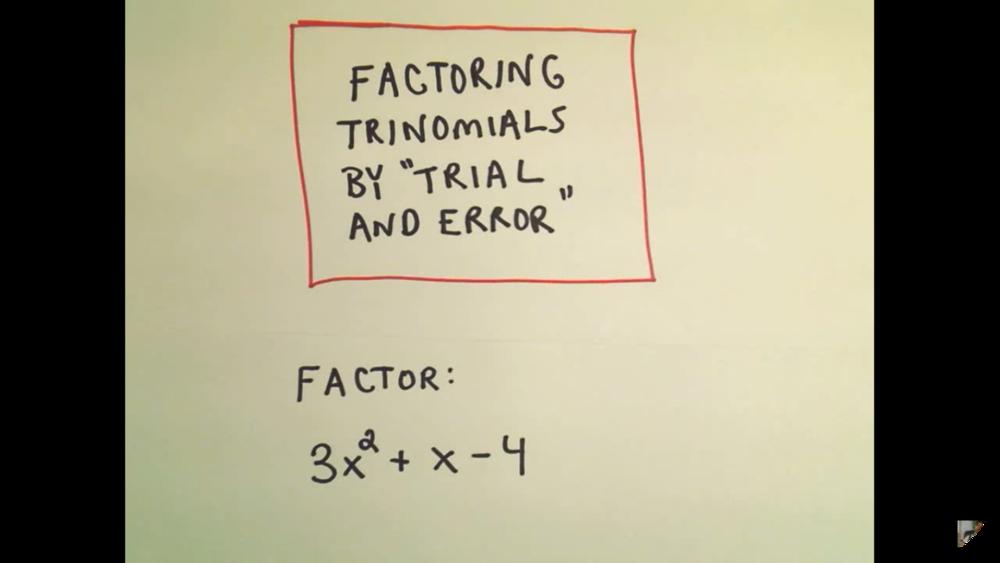 Polynomials: Factoring   15 Uploads