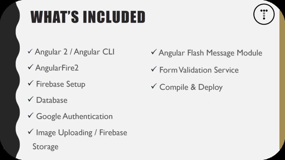 Angular 2 & Firebase App Series   7 Uploads