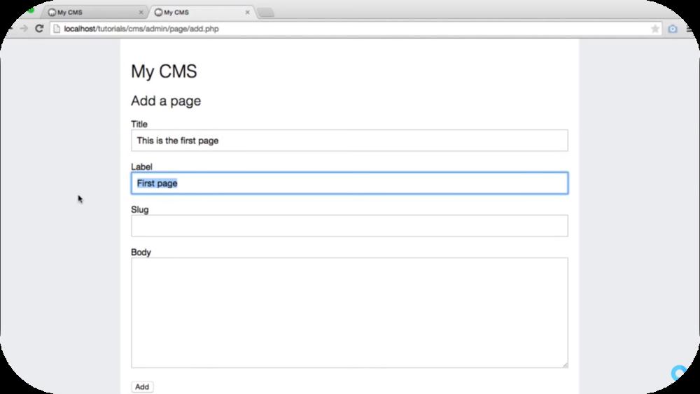 Basic CMS   8 Uploads