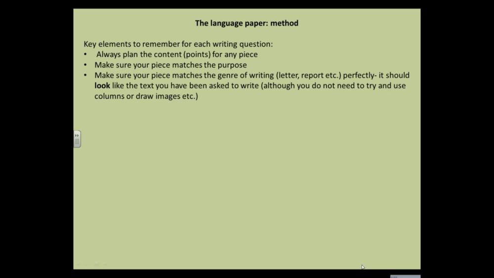 GCSE English Language   9 Uploads