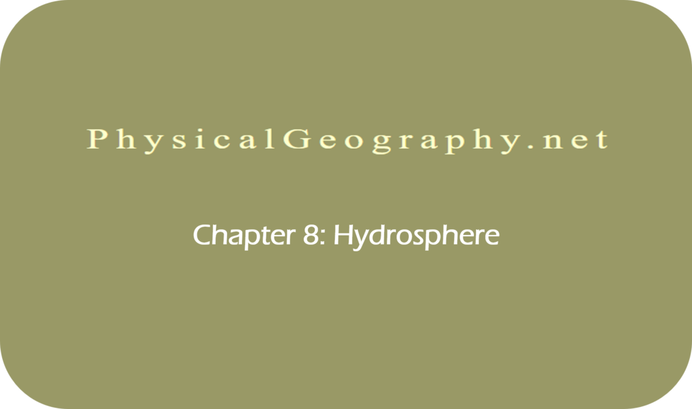 CHAPTER 8: Hydrosphere   18 Uploads
