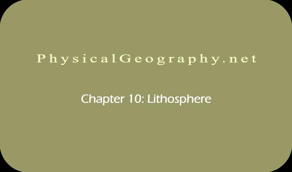 CHAPTER 10: Lithosphere   34 Uploads
