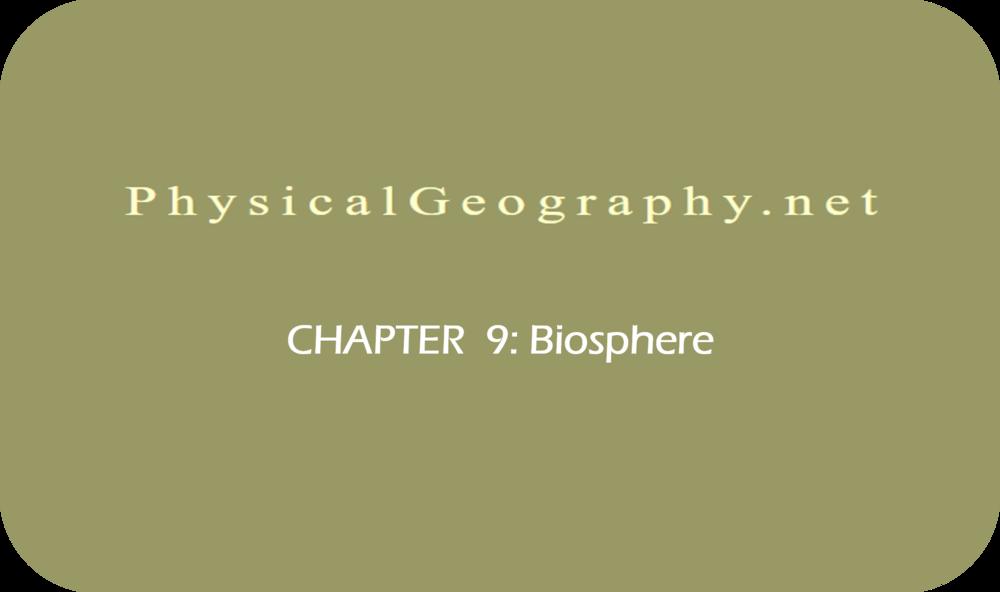 CHAPTER 9: Biosphere   19 Uploads