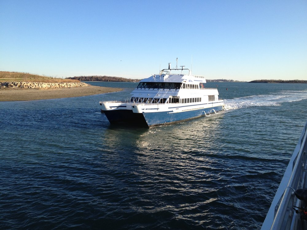 Hingham/Hull Commuter Boat