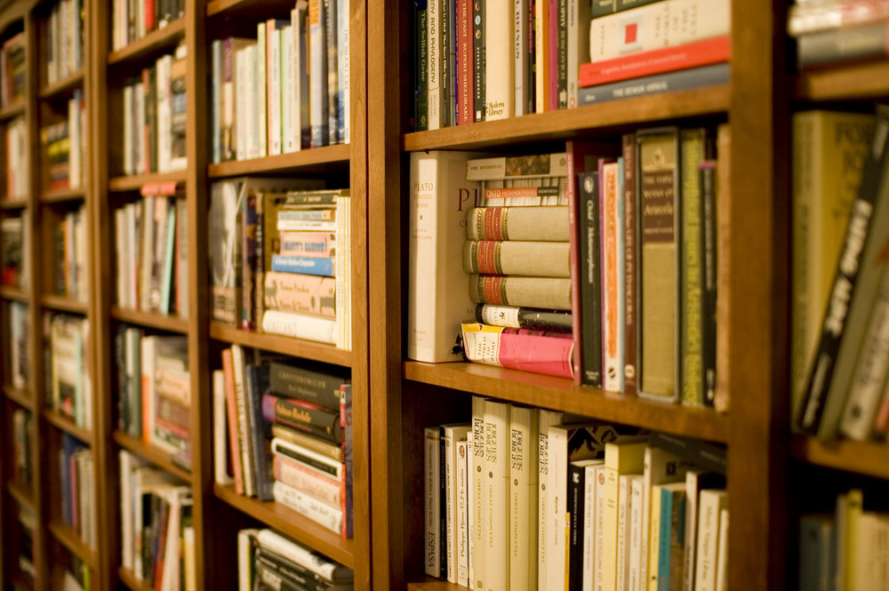 The Bookshelf Project - We audit stores and libraries to ensure accurate references are distributed.