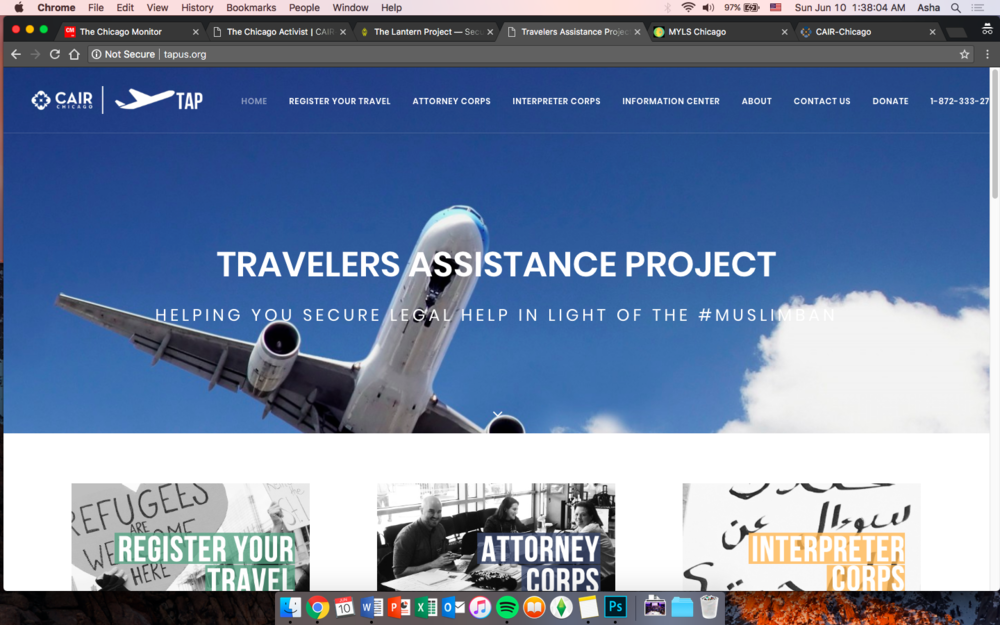 Traveler's Assistance Project -
