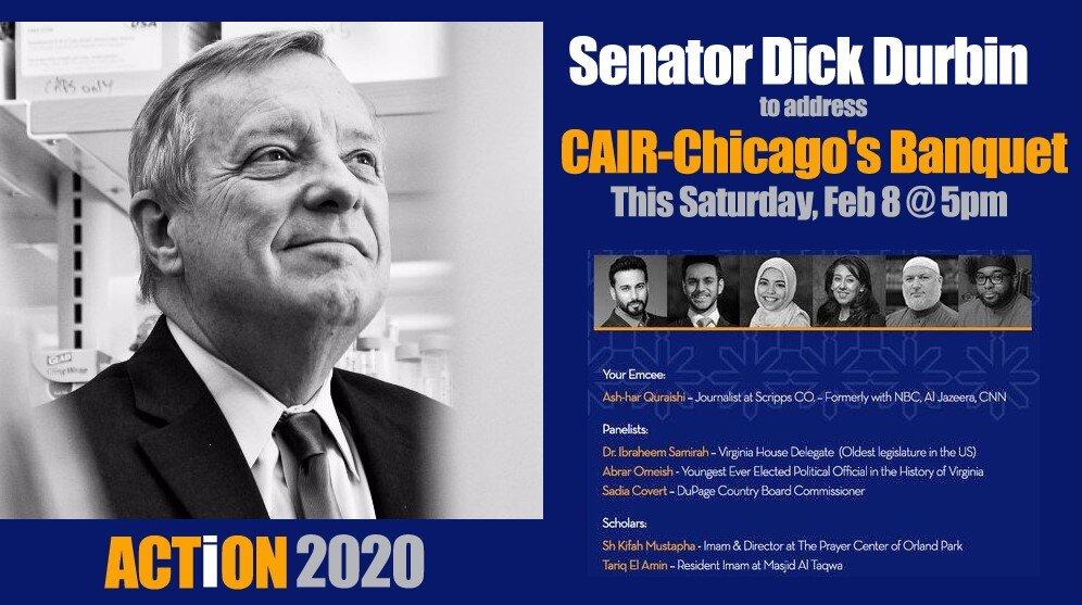 US Senator Dick Durbin to Speak at ACTION 2020