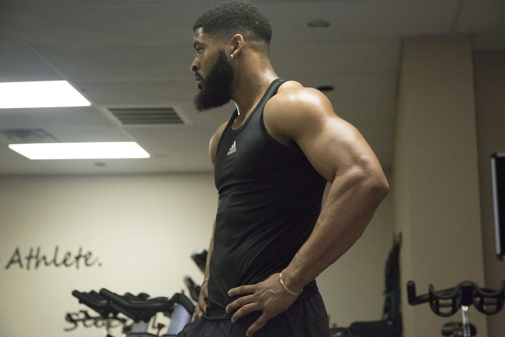 2018-3-29 NFL Prospect Dre Hall at Columbia Mid South 5 Fitness 10.jpg
