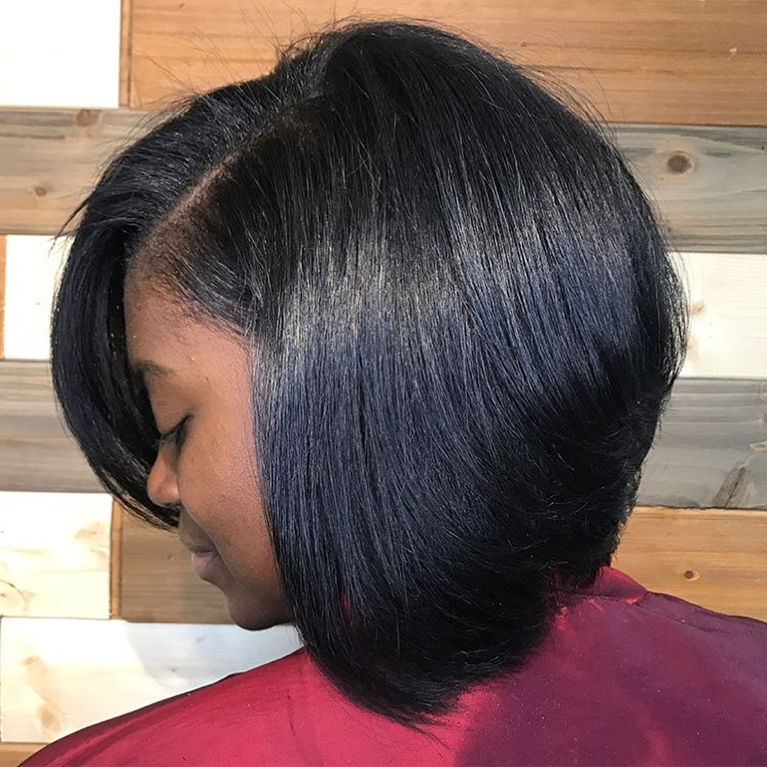 Image result for silk press for natural hair