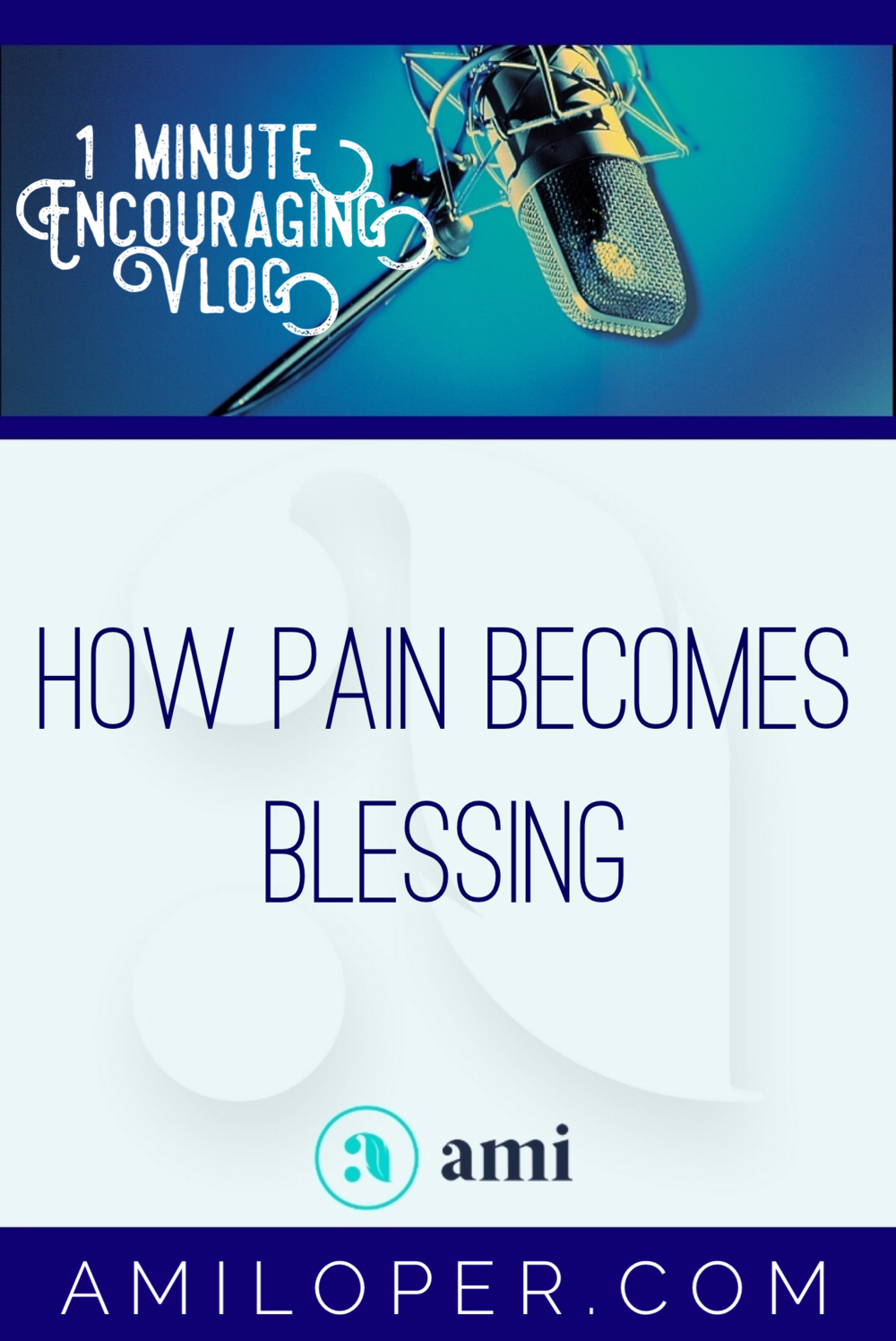 The painful things we go through are valuable for our personal growth. But the tears we shed in hard times have value beyond ourselves. In Scripture this place of weeping is called the Valley of Baca and our tears are transformed there. #Blessings #Vlog