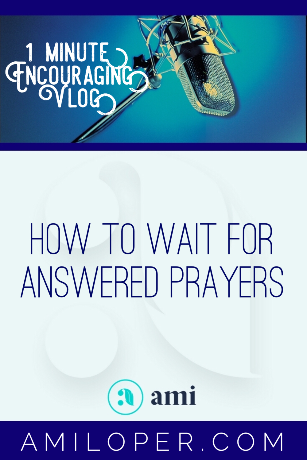 So you've said your prayers. Now what? What comes between prayer and the answer? The Psalmist shows us in a beautiful way! #Prayers #WaitingOnGod #Vlog