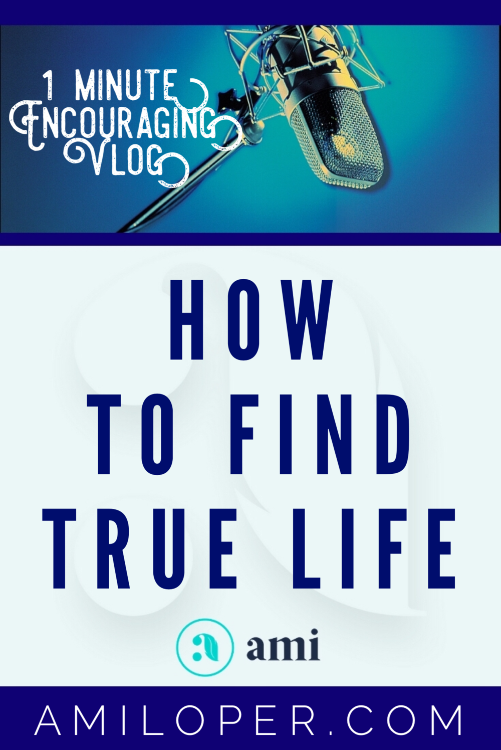 Do you find yourself on a constant search, always trying to fill a void? Perhaps you've repeatedly had that void filled only to find it empty again. What will fill you up and give you overflowing life? #TrueLife #Vlog