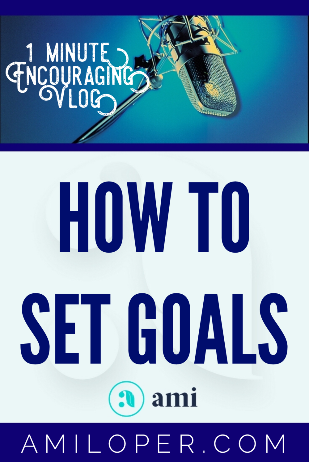 With all the advice swirling around out there for goal setting in the New Year, here is my very best advice for you! #Goals #GoalSetting #vlog