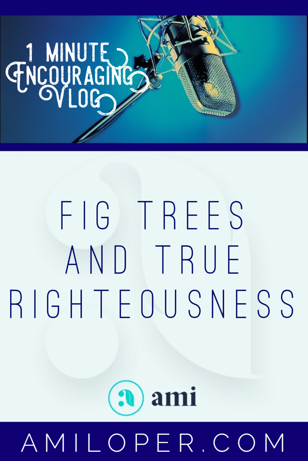 Are we trying to bear fruit on our own? Perhaps we have all the appearance of fruitfulness, but unless all the good things we are doing are birthed out of a place of true righteousness (righteousness received as a gift from God), all our effort is the fruitless action of self-righteousness. #SelfImprovement #BibleStudy #vlog