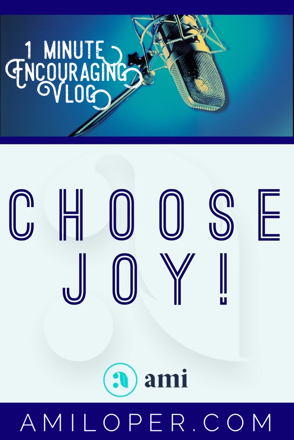 What are the four areas we need to watch that will either guard our joy or sabotage it? #ChooseJoy #vlog #Selfcare
