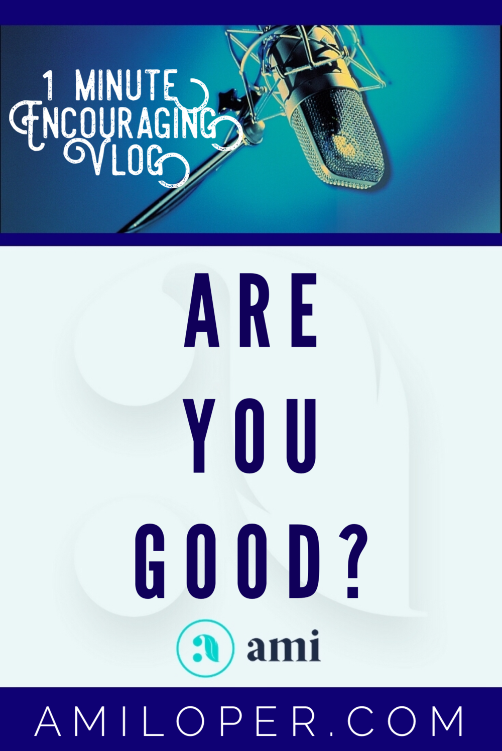 """I routinely come across people who are confident that they are """"good enough"""" to get into heaven and others who are confident that goodness doesn't matter. So how good is good enough? #TrustGod #vlog #BibleStudy"""