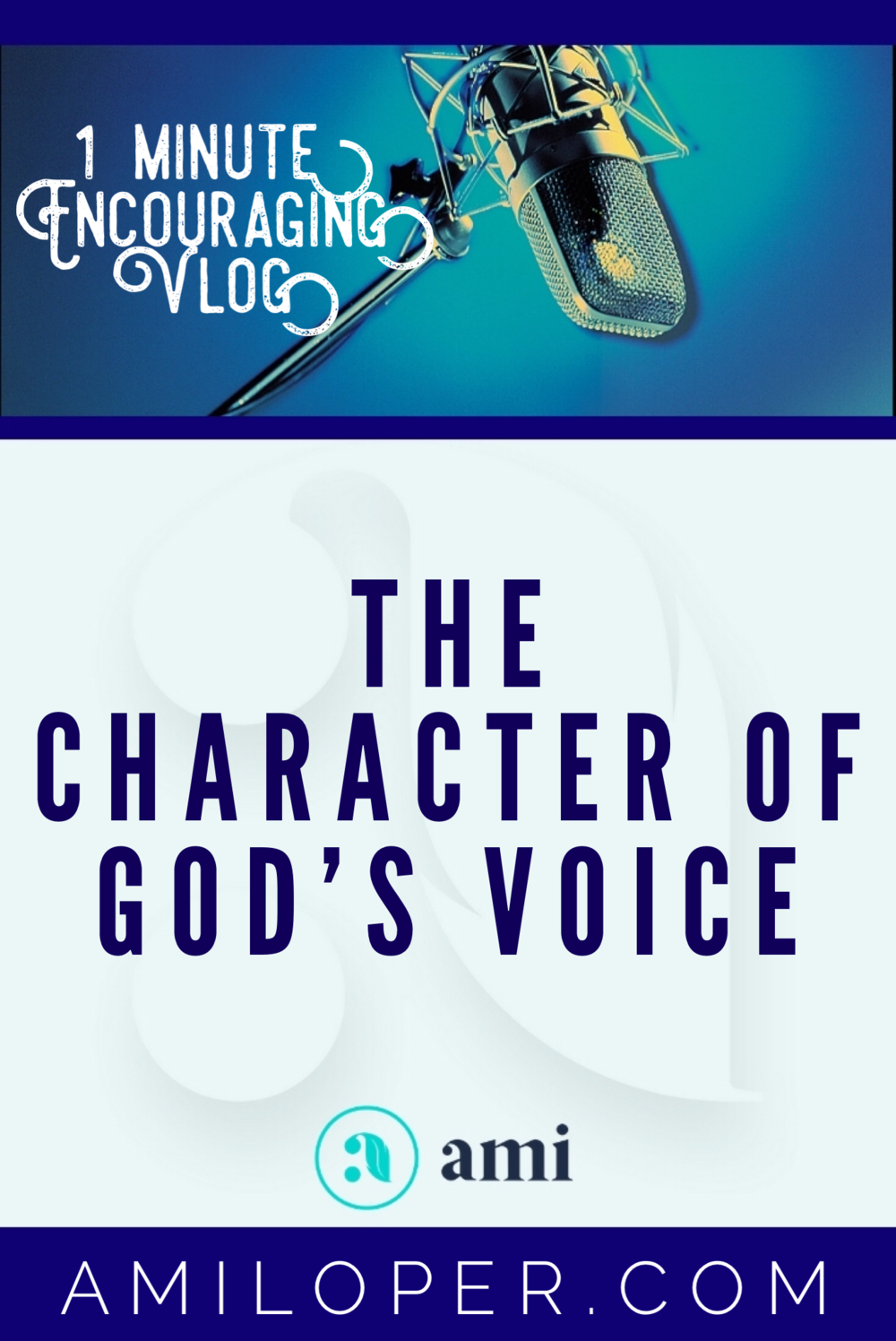 When you're listening for God's voice, are you making sure you are hearing accurately by keeping these basic safeguards in place? Knowing God's Word and His character are so important! #prayer #BibleStudy #Vlog
