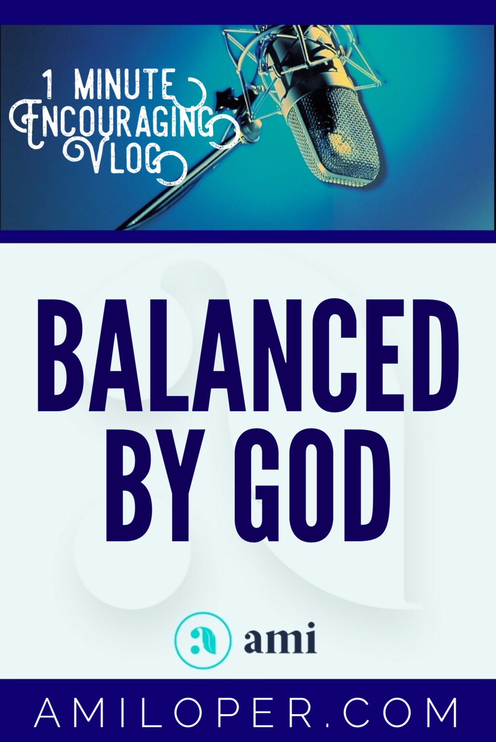 "Is ""Balance"" all it's cracked up to be? Maybe instead of balancing ourselves, we should let Someone wiser tell us what balance looks like for us individually. #TimeManagement #Prayer #Vlog"