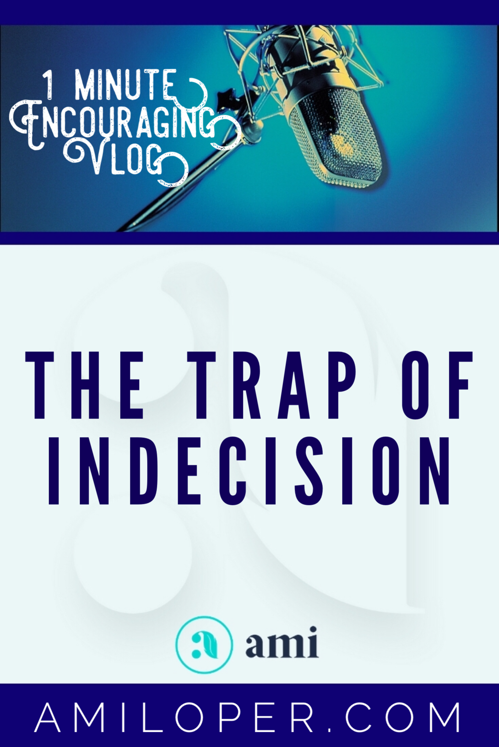 Move Forward! Don't stay stuck in Indecision! #Decisions #TrustGod #Vlog