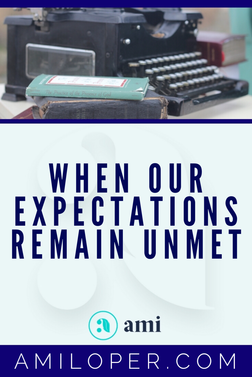 Have you ever been all set up emotionally for God to come through, for that breakthrough you can see in your mind's eye to materialize, only to have what looked like the perfect opportunity evaporate before your eyes? Me too. And this is what I felt the Lord told me about those times. #expectationVSReality #ChristianBlog