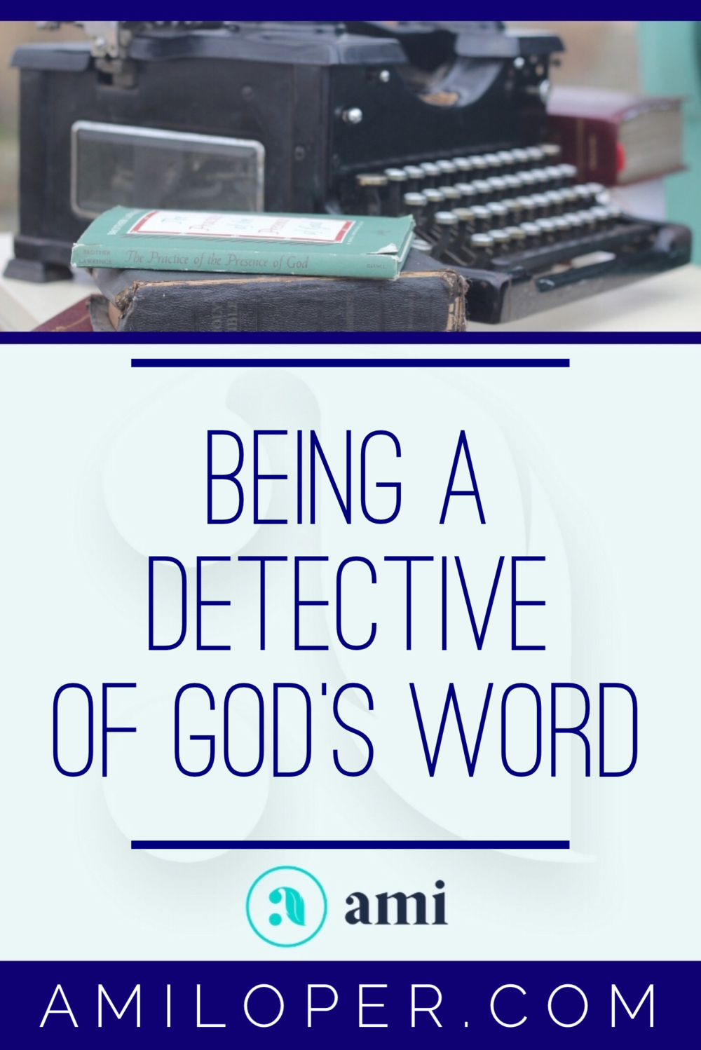 Like treasures of precious gems, there are beautiful truths in the Word of God that, given a little effort, could be mined by any of us. God has treasures awaiting you! Isn't it time we devoted ourselves to letting God show us the beautiful things in His Word? #BibleStudy #ChristianBlog
