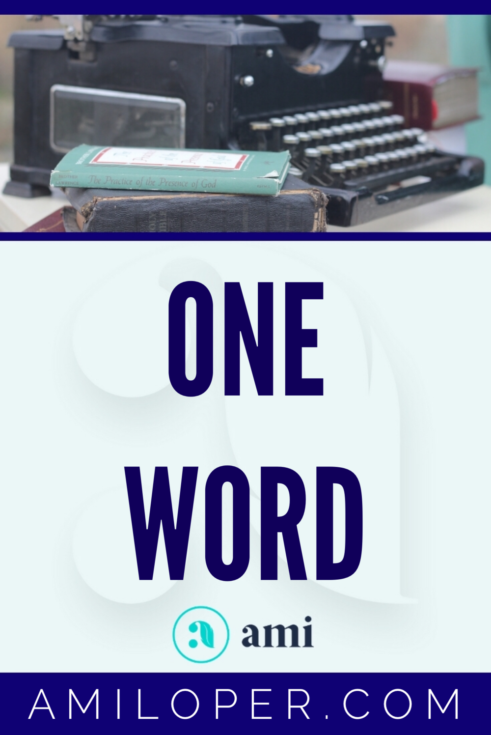 As the New Year was rolling around, I was feeling more and more  dread of starting up my blog once again. As I began to seek the Lord He  showed me that, at least for the time being, He wanted the blog to be  simpler and more about my personal daily journey. #OneWord #NewYear #ChristianBlog