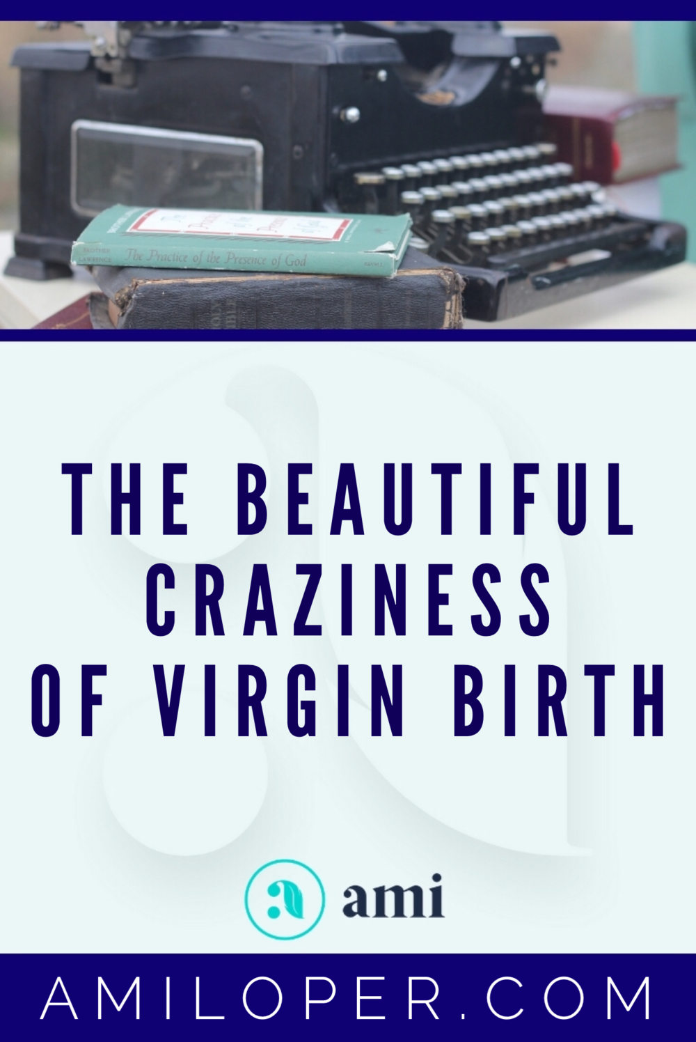 The Virgin Birth is a beautiful story that many either disregard because it sounds impossible or gloss over in confusion. But, as crazy as it sounds, the Virgin Birth is an essential element of our faith? Why? What's so important about it? #Christmas #ChristianBlog