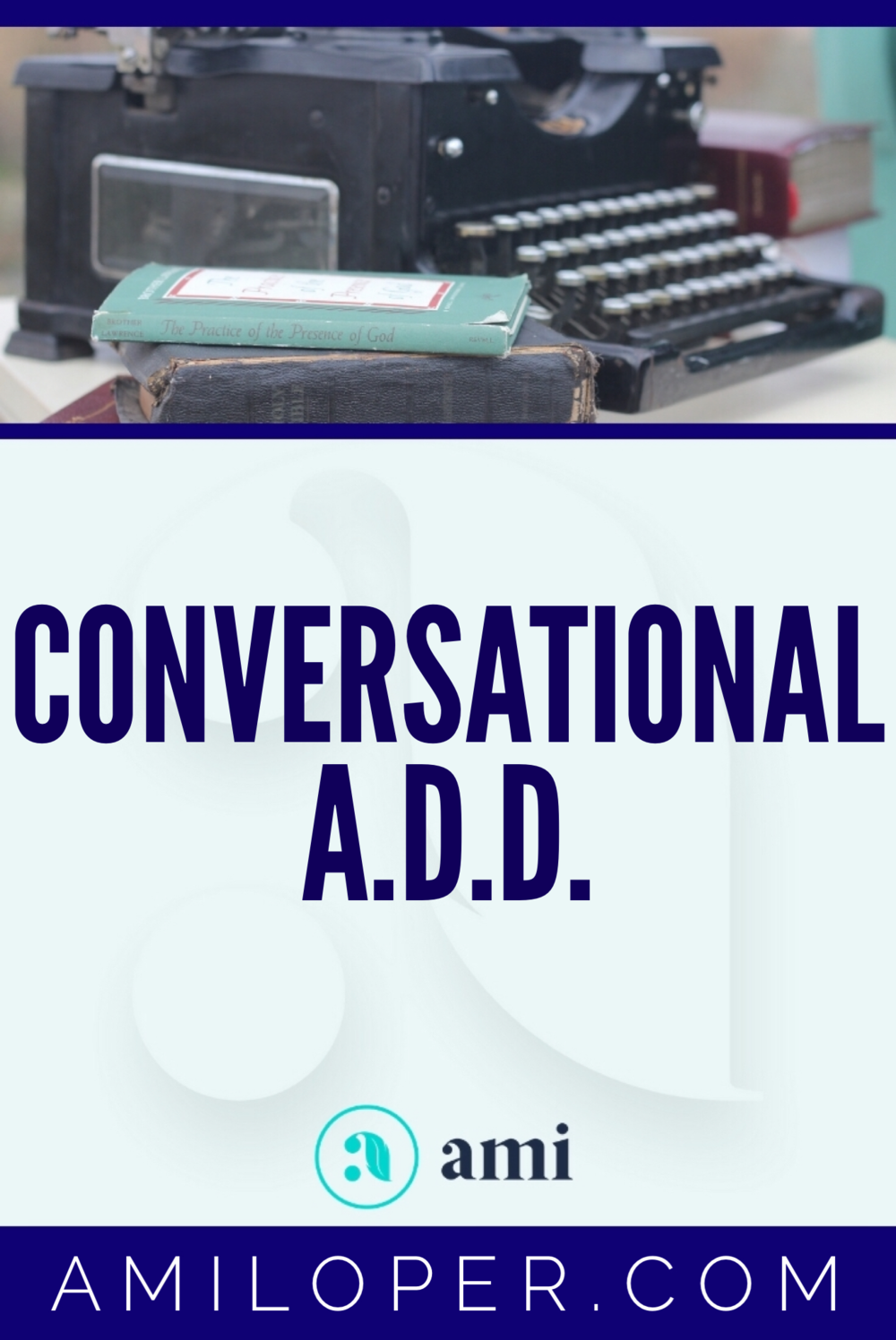 """Do you have """"Conversational ADD"""" -- trouble focusing on the voice of the Lord while you're in prayer? I do!   #prayer #ChristianBlog"""
