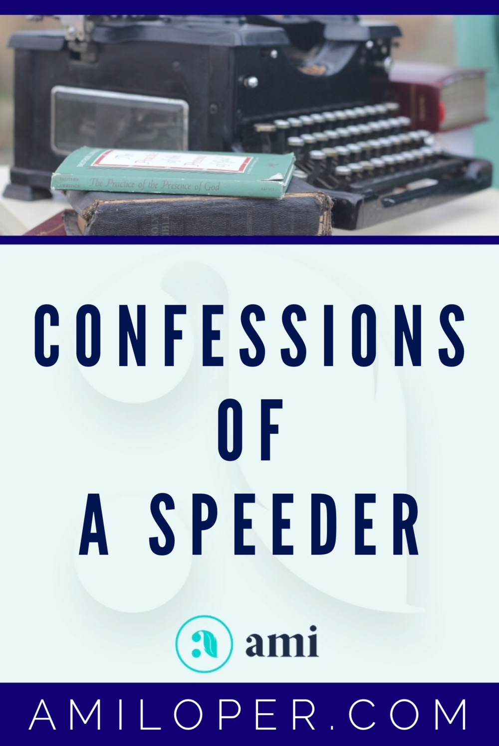 Speeding is one of those things that we've all done at one time or another. And we don't generally see much harm when everyone else is going much faster than we are. But the Lord showed me how we often fall into this trap in our spiritual lives too: Thinking that if we aren't the worst offenders, there's really no offense at all. How does God see this? Read the full blog post to see a different, perhaps unique, perspective. #salvation #ChristianBlogger
