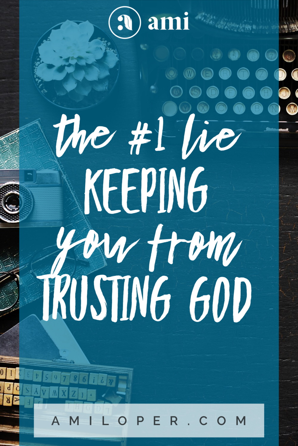 This last year, as I struggled to learn to trust the Lord in a specific and often tested area, I began to feel the whisper of the enemy tempting me back into worry. This lie has the potential to keep us from trusting the Lord. It's the topic of my latest blog. Come take a quick 3 minute read and see how to win this battle! #TrustInGod #ChristianBlog #Prayer
