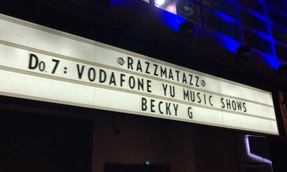 Show Venue: Razzmatazz. Barcelona, Spain.