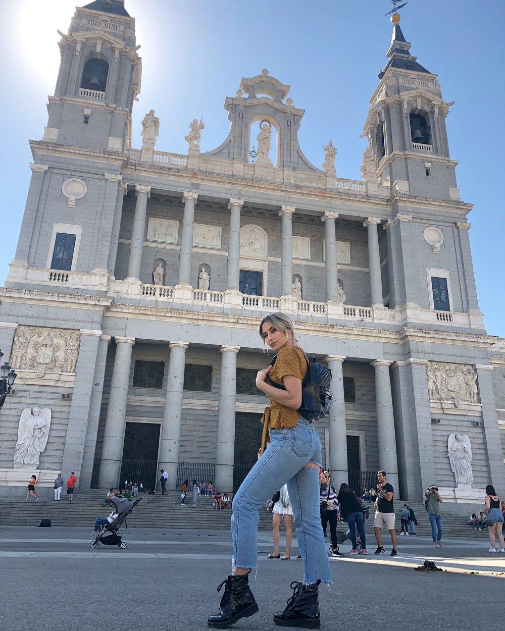 Catedral de la Almunda. Madrid, Spain.