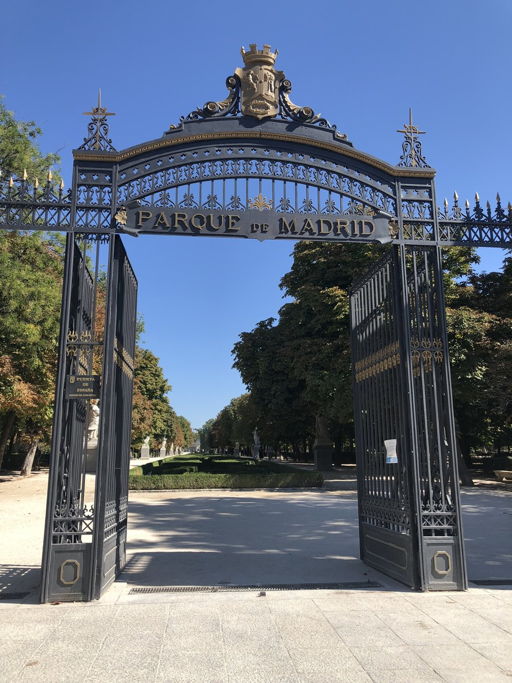Parque del Buen Retiro. Madrid, Spain.