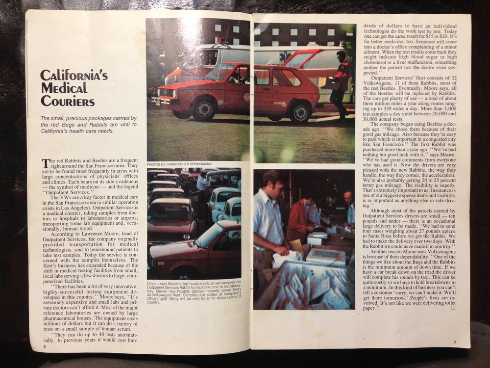 MCI's write up in Small World Magazine, 1977