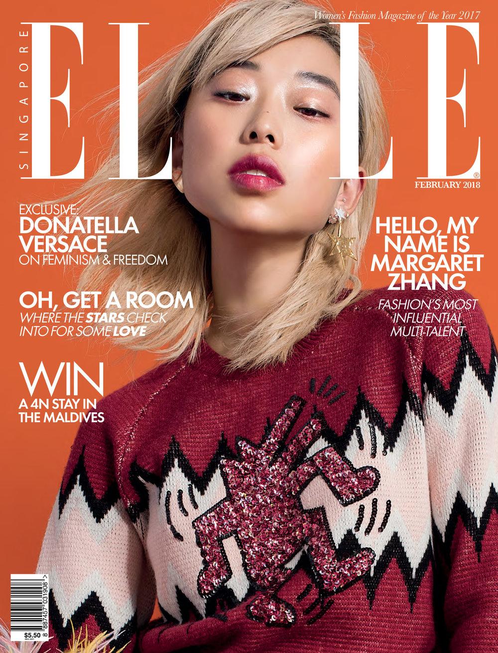 Elle Singapore, February 2018