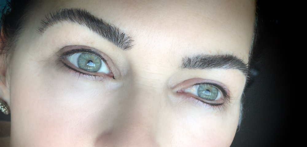 permanent eyeliner or lash enhancement