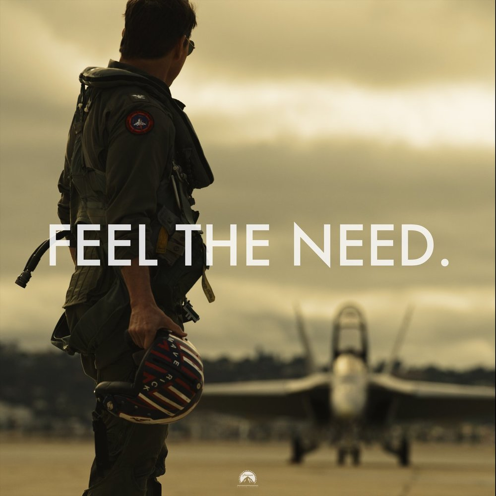 The Need! - I was 8 years old when the original Top Gun was released in theaters.