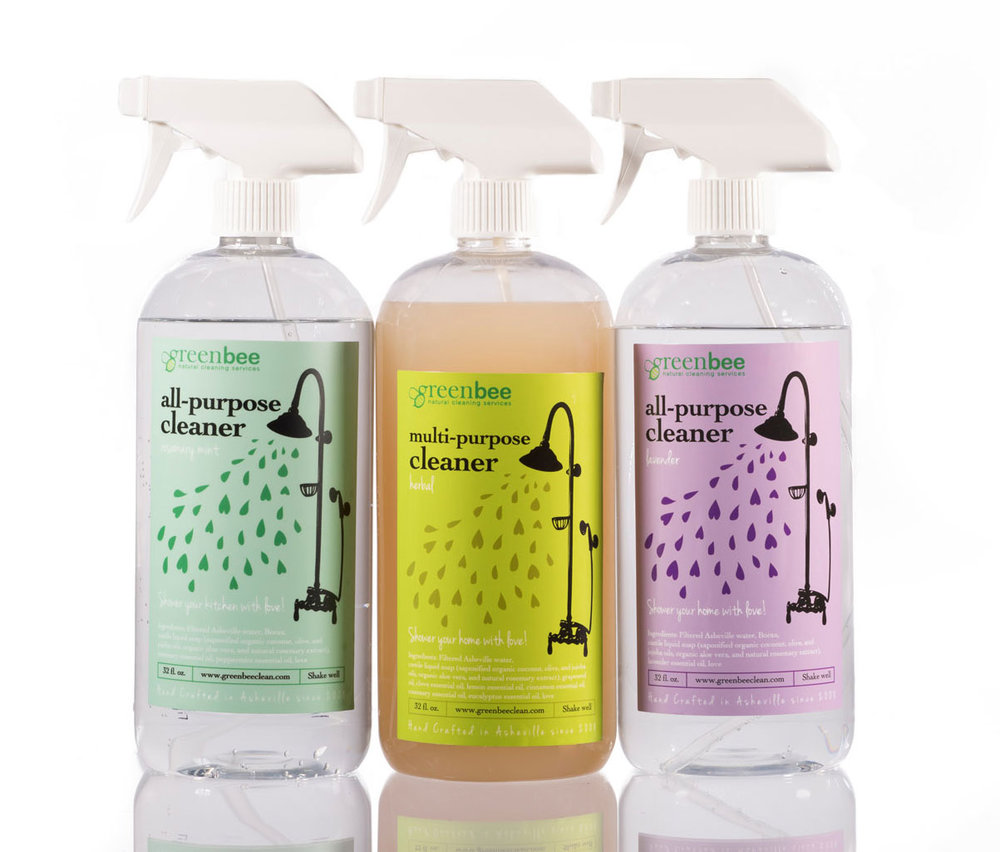 Asheville Homemade Cleaning Natural Products